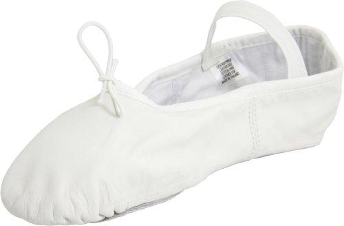 Bloch Womens Dansoft Ballet Slipper White
