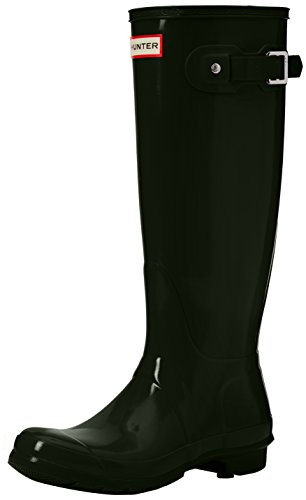 Unisex Hunter Tall Boots Original Water Boots Gloss Rain Olive Dark Snow Women's Boots vp1wp