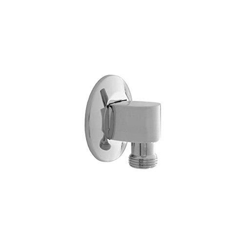 Jaclo 6001-PCH Polished Chrome 90 Degree Water Supply Elbow with Escutcheon (Supply Water Elbow Jaclo)