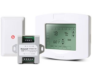 Honeywell ZKT1 ZWSTAT & 5800ZBRIDGE Kit - Z Wave Intrusion Devices