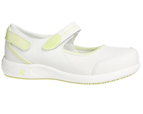 Oxypas Nelie, Women's Safety Shoes, White (Lgn), 5 UK(38 EU)