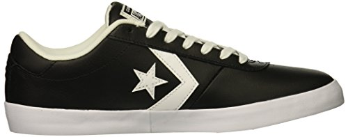 Star Adulte Converse Mixte Leather Ox Noir Chaussures Point 001 Fitness white De Lifestyle black black EqnpRqwz