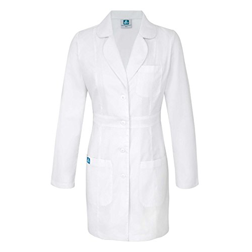 Adar Universal Womens 33 Adjustable Belt Scrub Lab Coat