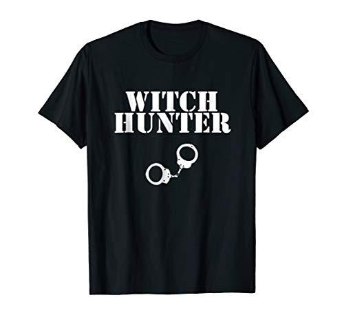 Halloween Witch Hunter Shirt Novelty T-Shirt Costume ()