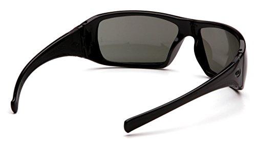 Pyramex Goliath Safety Eyewear, Black Frame, Gray Polarized Lens by Pyramex Safety (Image #4)