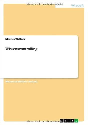 Book Wissenscontrolling