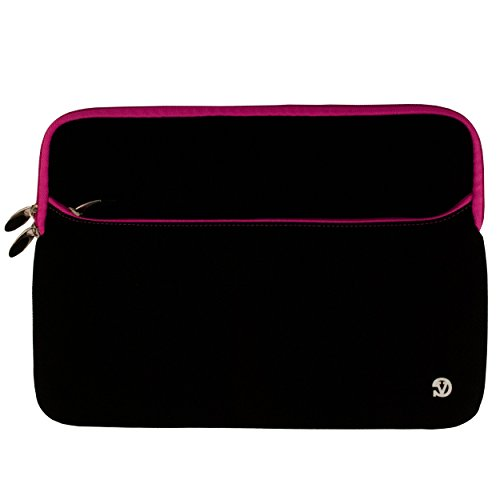 Magenta Shield Protector Case (Magenta Trim Durable Neoprene Protective Laptop Sleeve Cover for 13.3