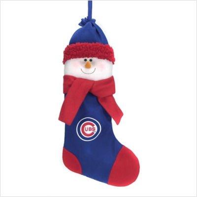 Scottish Christmas Chicago Cubs Snowman Stocking Chicago Cubs Christmas Stocking