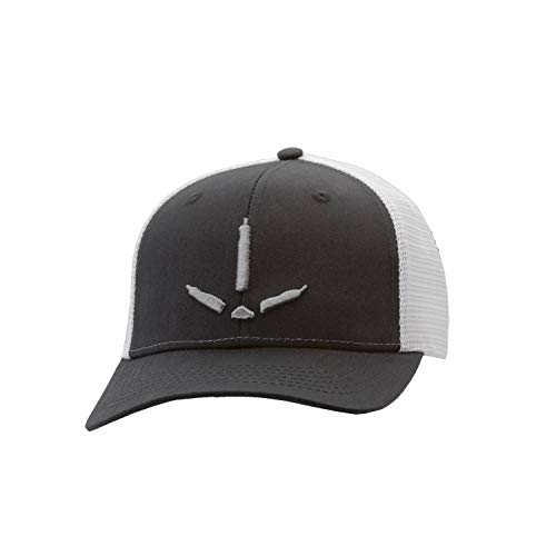 Nomad Outdoors Turkey Track Trucker Cap-Black