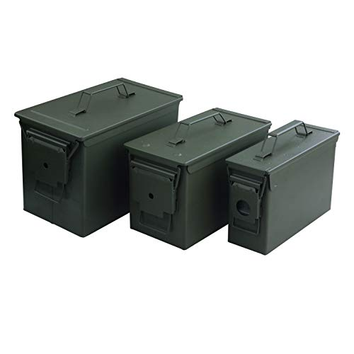MAGNUM 53540 Metal Ammo Cans (3 Piece)