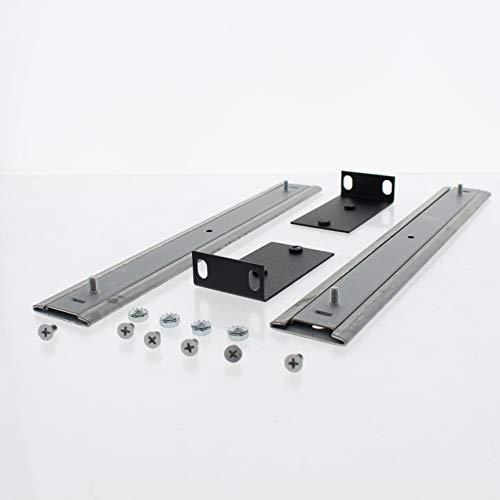Leviton 5S100-SLM Slide Rail Kit for 0-24 or 0-72 Fiber Rack Mount Enclosures (Rackmount Kit Slide)