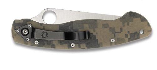 Spyderco (C36GPCMO) Military Model G-10 Plain Edge Knife, Camo by Spyderco (Image #3)