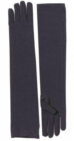 Long Red Nylon Gloves (Forum Novelties 51547 Long Nylon Gloves, Red)