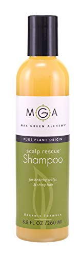 Scalp Rescue Shampoo, 8.8 fl oz, with Lemon Tea Tree For Healthy & Lustrous Hair. Reduces Itchy Scalp, Dandruff & Frizz. No Parabens, Sulfates, PEGs or Quats. Natural Herbal Scent For All Hair Types