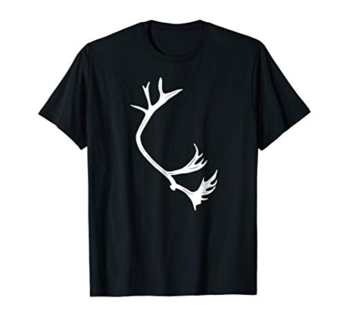 (Classic Antler Addict Caribou Shed T-shirt; Horn Hunter Tee)