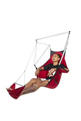 TICKETTOTHEMOON Ticket to The Moon Mini Hammock Chair | Mini up to 60 kg | Standard up to 120 kg (Burgundy, Standard) (Hammock Ticket To The Moon)