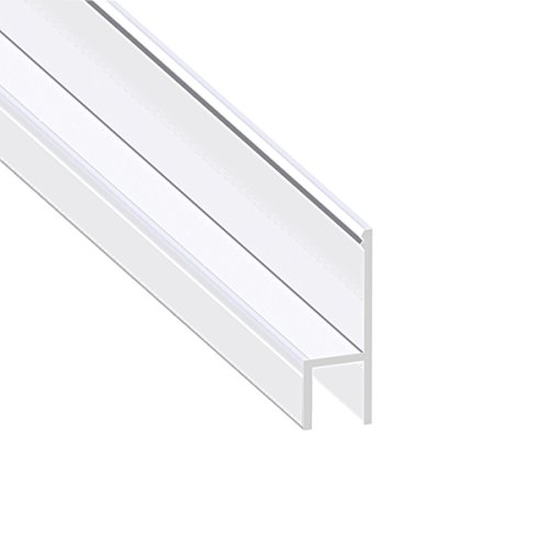 Buy Bargain Shower Door Seal, Frameless Shower Door Gasket Glass Door Bottom Sweep Molding Trim-Leng...