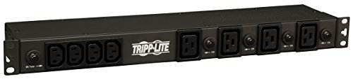 Tripp Lite Basic PDU, 30A, 20 Outlets (16 C13 & 4 C19), 200/208/240V, L6-30P Input, 15 ft. Cord, 1U Rack-Mount Power - In Outlets Factory California