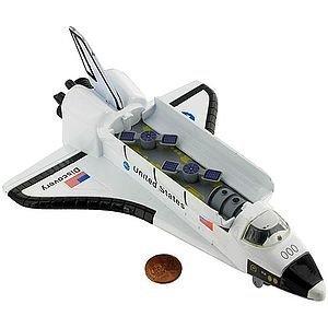 Rhode Island Novelty Die Cast Space Shuttle - Large 8 (Big Space Shuttle)