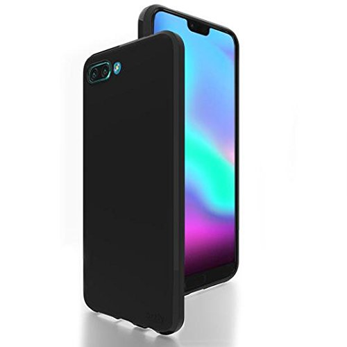 best service d5332 46b2b Orzly Honor 10 Case FlexiCase for Huawei Honor 10 (2018 Model Smartphone) -  Protective Flexible Silicon Gel Phone Case - Black