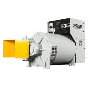 Winco 50PTOC-3 PTO Generator, Single Phase 120/240V Model, Continuous 50,000W, 620 lb.