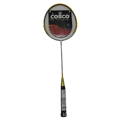 Cosco CB110 Strung Badminton Racquet   Yellow