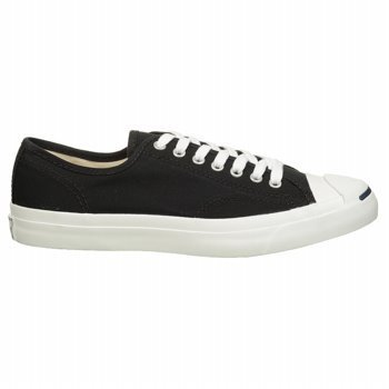Converse Mens Jack Purcell CP Ox Black/White Fashion Athl...