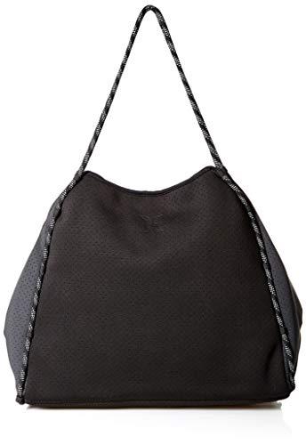 - Hurley Women's Apparel Junior's Neoprene Beach Bag Backpack Purse, black, QTY