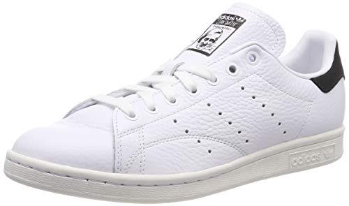 Black Hombre ftwr White Para Adidas Stan White core Black ftwr Zapatillas Ftwr Smith Gimnasia Blanco De xCZZYwRq