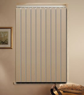 PVC vertical blinds size 72
