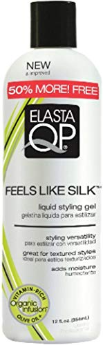 Elasta QP Feels Like Silk Liquid Styling Gel, 12 oz (Pack of 4) ()