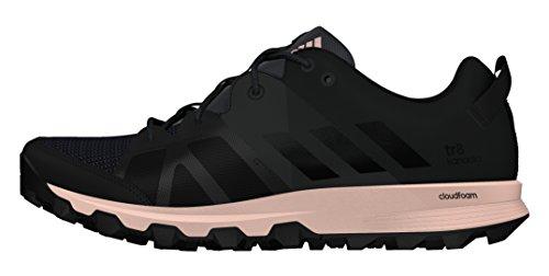 adidas Kanadia 8 Tr W, Zapatillas de Running Unisex Adulto Negro (Neguti / Negbas / Rosvap)