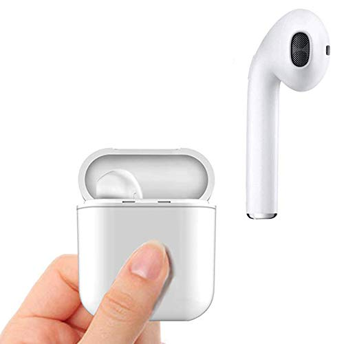 Wireless Bluetooth Earbuds Bluetooth Headphones with Mic and Charging case for iPhone X 8 7 6 Plu,Samsung Galaxy S7 S6 and Smartphone etc