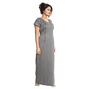 Comfortable Pregnancy Clothes Concealed Zip Nursing Nighty