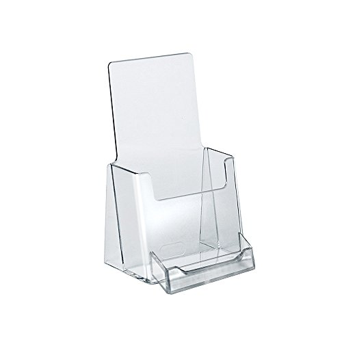Azar 252922 Counter Trifold Brochure Holder with Business Card Pocket, 10 ()