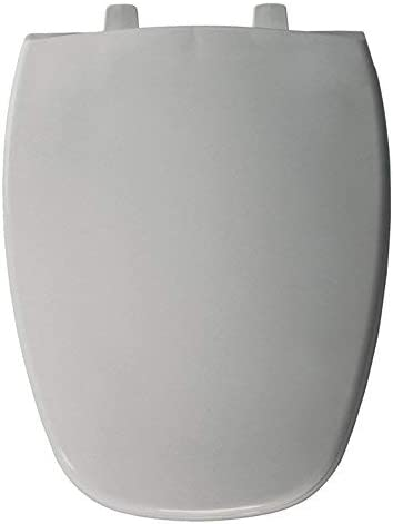 Bemis 1240205162 1240205 162 Plastic Elongated Toilet Seat Silver