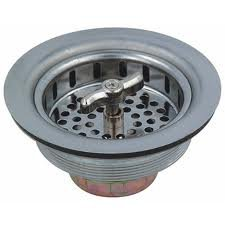 Solid Stainless Steel Kitchen Twist Lock Sink Strainer