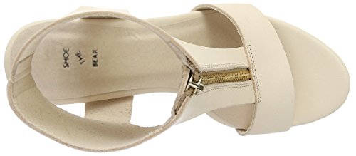 the Shoe Wedge Sandals Heels Beige WoMen Bear Nude Jolie 221 4wddZB1