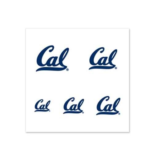 California Golden Bears Fingernail Tattoos - 4 Pack]()