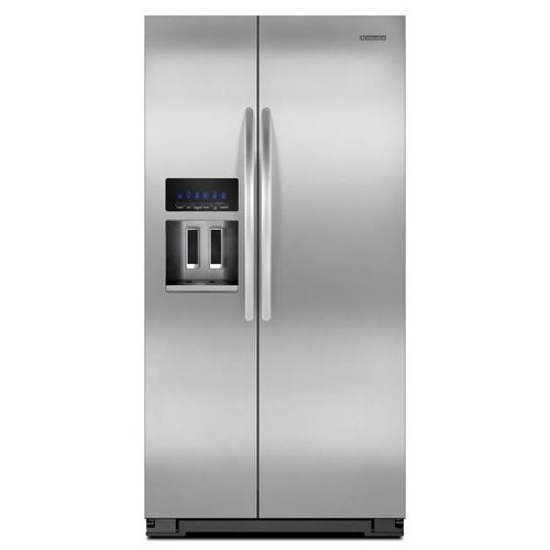 Kitchenaid KSC24C8EYY 35 1/2-Inch, 24 Cu. Ft. Counter-Depth Side-by-Side Refrigerator ()