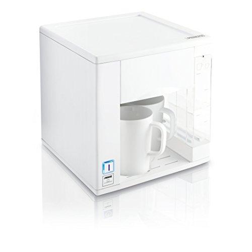 Princess Compact4All – Cafetera con capacidad de 0.3 l, color blanco