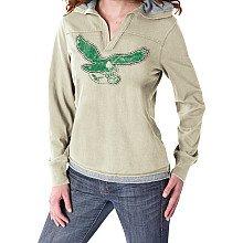 Philadelphia Eagles Women's Classics Hooded Long Sleeve (Reebok Philadelphia Eagles Shirt)