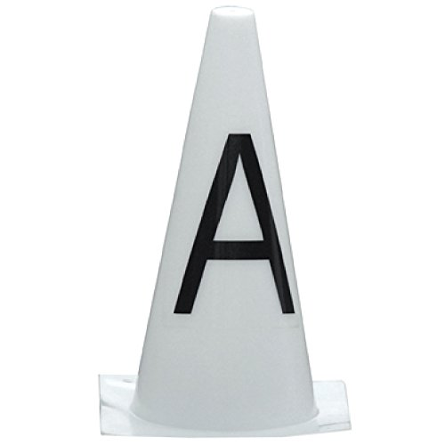 StableKit Dressage Markers Cones (AKEHCMBF) (White)