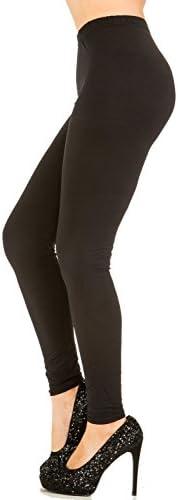 Juicy Leggings Premium Super Soft High Waist Leggings - 20 Colors - Regular and Plus Size Available