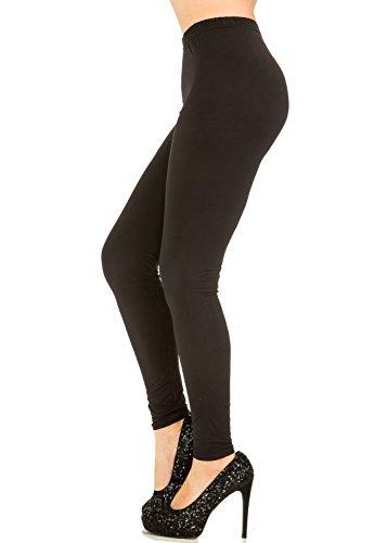 Juicy Leggings Premium Super Soft High Waist Leggings (Small/Medium, Black)