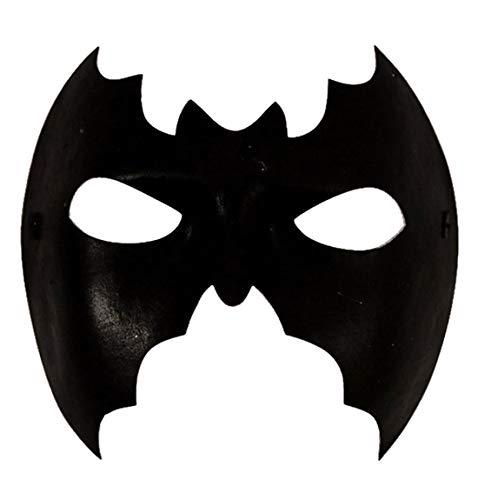 MA ONLINE Unisex Halloween Bat Masquerade Eye Mask