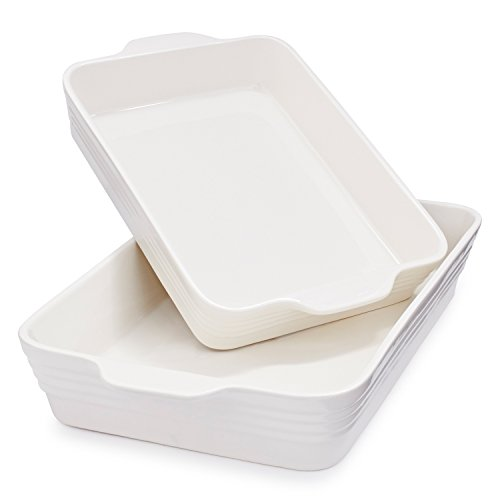 Sur La Table White Oven-to-Table Bakers M94/M95 WIN , Set of 2