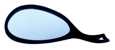 Hair Art Large Teardrop Mirror