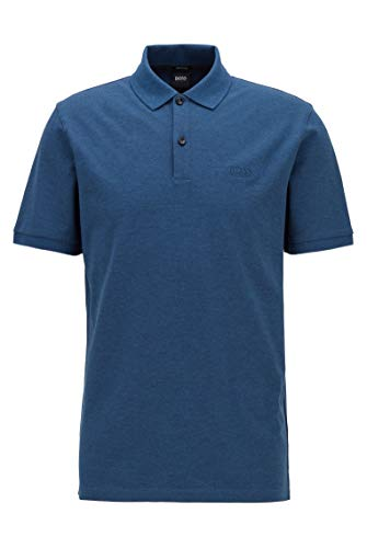 Hugo Boss Pallas Pima Cotton Pique Grey Polo