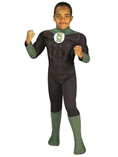 Justice League Green Lantern 3D Boy's Halloween Costume (LARGE)